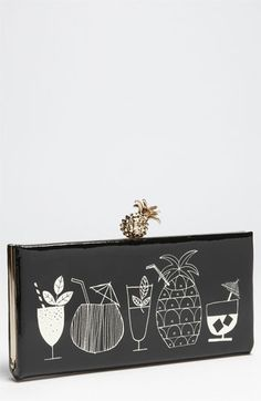 kate spade new york 'tiki bar' clutch available at Nordstrom.  This is a great clutch!  LOVE it!