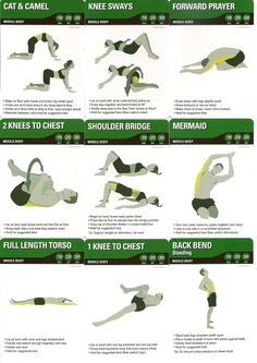 Middle body stretch 1