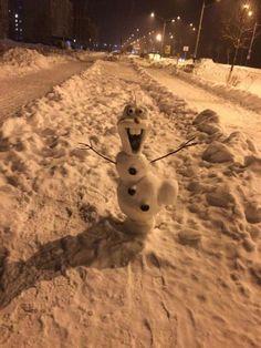 10 sněhuláků, kteří posouvají zimu o další level. Ten sedmý vás rozseká! - Evropa 2