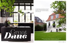 December 2012 - Lonny Magazine - Lonny (Copenhagen beachside community of Hellerup - i want to go to there! and live in this house!!)