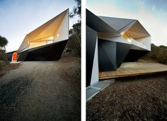 I'm currently obsessed with modern, geometric inspired architecture... Klein Bottle House
