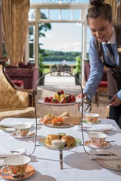 #AfternoonTea @LoughErneResort - the perfect afternoon