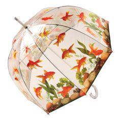 Extra Off Coupon So Cheap Aquarium Bubble Umbrella Women Goldfish Artwork 48 Inches Curved Handle Rain Dome Umbrella, Bubble Umbrella, Rain Umbrella, Kids Umbrellas, Umbrellas Parasols, Globe Art, Cool Fish, 3d Pattern, Unique Purses