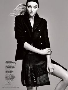Heather Marks by Max Abadian for Red Magazine