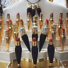 girly-things-by-zoe: christian louboutin lipsticks