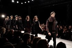 The big finale.   Behind the Scenes of Fashion show AW 2012 – à Mercedes-Benz Fashion Pavilion.
