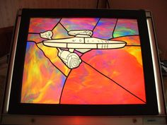 Enterprise stained glass (but wrong registry number)