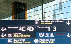 Travel tip to make arrivals, departures and connections easier at Paris Charles de Gaulle airport, second largest airport in Europe.