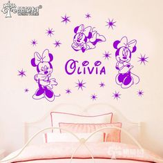 Cheap sticker window, Buy Quality sticker waterproof directly from China stickers lip Suppliers:    minnie a girl's dream wall stickers home decor wall decals for girl's room decal sticker home decoration wall poster