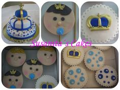 Torta, Galletas Y Cupcakes para un Bautizo Real!...#torta #tortasdecoradas #tartas #tartaspersonalizadas #galletas #cupcakes #ponquesitos #ponquesitosdecorados #royalthemeparty #decoratedcookies #decoratedcupcakes #fondant #susanitascakes #talentovenezolano