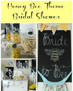 Honey Bee Bridal Shower | Hymns and Verses