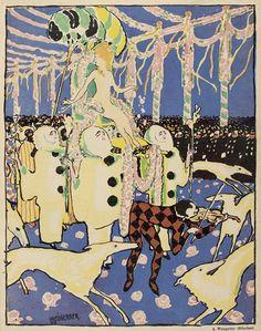 albert weisgerber for 'jugend' (1908)
