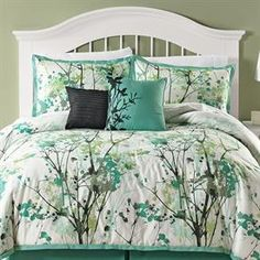 Funky Floral Oversized Multi-Pc. Comforter Set & More | Comforters | Brylanehome