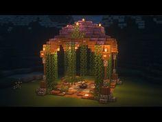 Minecraft Temple, Minecraft Villa, Cute Minecraft Houses, Minecraft Mansion, Minecraft Structures, Minecraft Medieval, Minecraft Plans, Minecraft Room, Amazing Minecraft