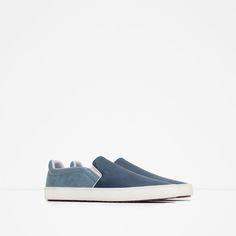 Image 2 of CONTRAST COLOR SNEAKERS from Zara