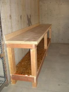 Workshop Countertop Base I Would Love This Set Up For The