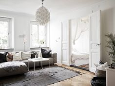 Tiny Scandinavian Apartment Decorated With Style - DigsDigs