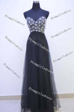Prom Dresses Black Prom Dress Long Prom Dress by Promgirlsdress