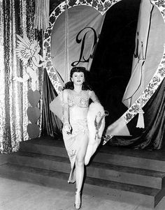 Barbara Stanwyck in Lady of Burlesque, 1943.