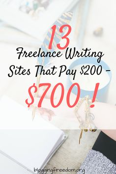 Check out this list of super-high paying freelance writing gigs!