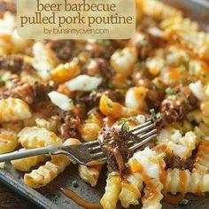 Beer BBQ pork fries