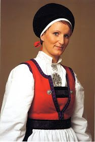 Hello all, Today I will cover the last province of Norway, Hordaland. This is one of the great centers of Norwegian folk costume, hav. Folk Costume, Costumes, Traditional Outfits, Norway, Scandinavian, Vest, Embroidery, People, Bergen