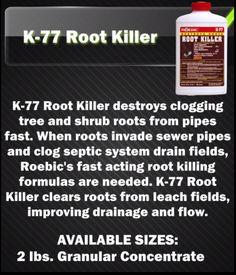 Product Spotlight - Roebic Laboratories, Inc. K-77 Root Killer.