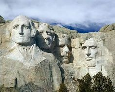 I always wanted to visit Mt Rushmore in South Dakota