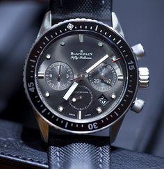 宝珀 (Blancpain) [NEW] Fifty Fathoms Bathyscaphe Chronographe Flyback 5200-1110-B52A (Retail:EUR 13890) ~ UNBEATABLE OFFER: HK$78,000.