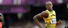 Usain Bolt is still taking it easy. Usain Bolt, The Man, Finals, All About Time, Sports, Mens Tops, Hs Sports, Final Exams, Sport