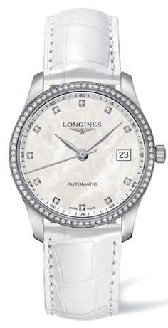 Longines Watch Master Collection Ladies #bezel-diamond #bracelet-strap-alligator #brand-longines #buckle-type-push-button #case-depth-9-5mm #case-material-steel #case-width-36mm #date-yes #delivery-timescale-1-2-weeks #dial-colour-white #gender-ladies #luxury #movement-automatic #official-stockist-for-longines-watches #packaging-longines-watch-packaging #sku-lng-434 #subcat-master-collection #supplier-model-no-l2-518-0-87-3 #warranty-longines-official-2-year-guarantee #water-resistant-30m