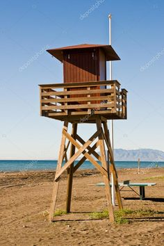 How to Take Good Beach Photos Lookout Tower, Cameras For Sale, Fish Camp, Beach Pictures, Malaga, Hunting, Spain, Survival, Stock Photos
