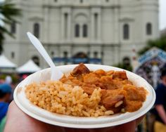 K-Paul's Louisiana Kitchen serves K-Paul's Famous Butter Beans and Rice 'That Make You Crazy' at French Quarter Fest every year - get the recipe.