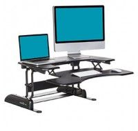 Varidesk Pro Plus 36 Desk Black - Standing Desk