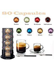 Nespresso Vertuoline Coffee Espresso Vertuoline Welcome Set Coffee 80 Capsules >>> Learn more by visiting the image link. (This is an affiliate link) Coffee Type, Coffee Pods, Best Coffee, Cheap Coffee Machines, Coffee Maker Reviews, Coffee Branding, K Cups, Espresso Coffee, Drinking Tea