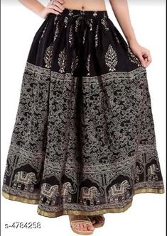 Checkout this latest Skirts Product Name: *Graceful Stylish  Women's Skirt* Sizes:  34, 36, 38, 40, 42, 44, Free Size Country of Origin: India Easy Returns Available In Case Of Any Issue   Catalog Rating: ★4 (289)  Catalog Name: Graceful Stylish Women's Skirts Vol 4 CatalogID_696913 C74-SC1013 Code: 513-4784258-267