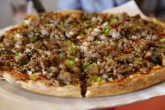 Athens Pizzeria, 8801 Dennison Ave., Cleveland; 216-961-6176 - Athens two west side Cleveland shops have a long following for their pizzas, as well as appetizers and entrees such as chicken and seafood platters and gyro dinners.