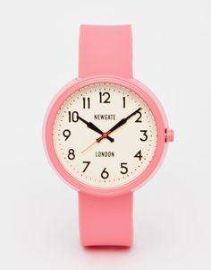 Newgate Piglet Pink Electric Watch
