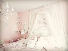 Not So Shabby - Shabby Chic: Bed crown & pet pictures proof video