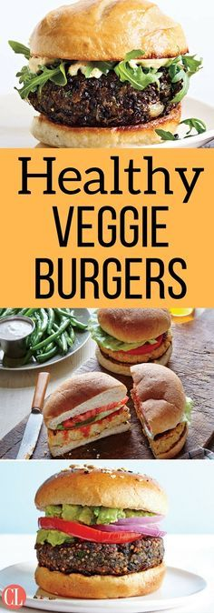 Satisfy your appetite for a great-tasting veggie burger that's easy to make and more healthfully prepared when you use your own wholesome ingredients. Veggie burgers can be made with chickpeas, black beans, white beans, potatoes, lentils, and pretty much any other vegetable that can be mashed and formed into a patty. | Cooking Light