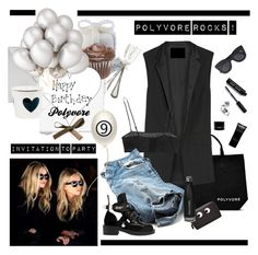 """Happy Birthday Polyvore - Contest Entry !"" by barngirl ❤ liked on Polyvore featuring art"