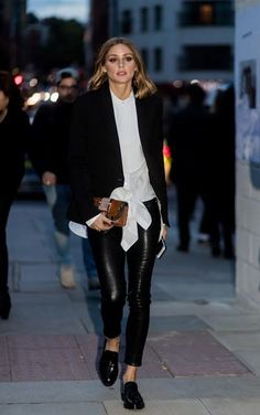 Olivia Palermo at London Fashion Week III