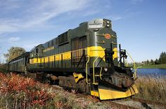 York-Durham Heritage Railway Stouffville, Ontario   Imagine how beautiful this would be in the fall!