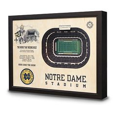 Great use of stacked ply to show the levels of a stadium.  Let's get the Coliseum in there!  #uncommongoods