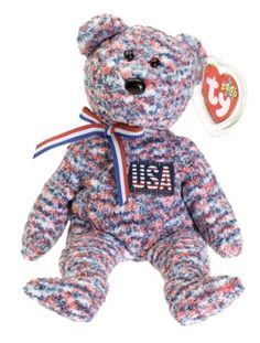 0a30f55dcdc Ty Beanie Babies - USA Bear Ty Babies