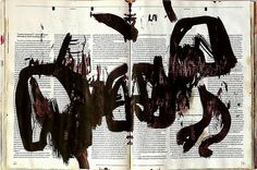 leslieavonmiller:    óleo sobre revista (by GERSON REICHERT - WORKS - OPEN PORTFOLIO)