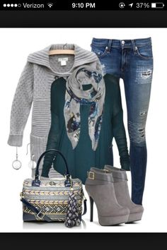 Perfect movie date outfit!