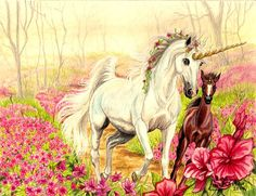 The Meadowlands by Artsy50 on DeviantArt Unicorn Fantasy Myth Mythical Mystical Legend Licorne Enchantment Einhorn unicorno unicornio Единорог jednorožec Eenhoorn yksisarvinen jednorożca unicórnio Egyszarvú Kirin