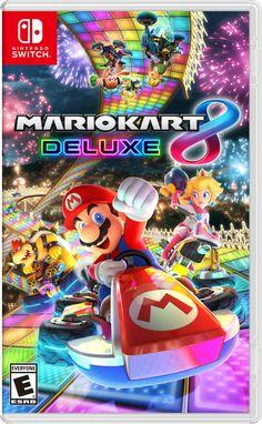 New Nintendo Switch Mario Kart 8 Deluxe.cor Furniture from top store Nintendo 64, Nintendo Switch System, Nintendo Eshop, Nintendo Switch Games, Super Nintendo Games, Mario Kart 8, Super Mario Kart, Ps4, Playstation