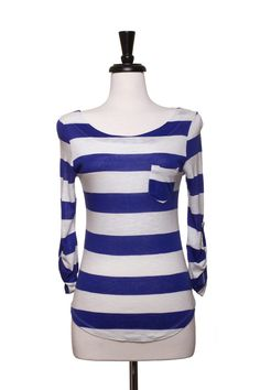 Dressing Your Truth - Type 4 Nautical Stripes Top